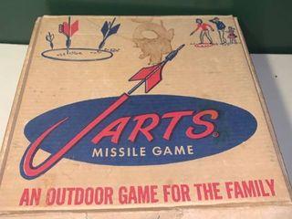 Vintage Jarts lawn Darts Game location 2D