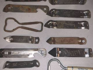 lot of 13 Vintage Bottle Openers location Bar