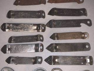 lot of 14 Vintage Bottle Openers location Bar