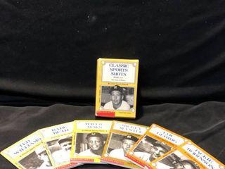 Scholastic Classic Sports Shots Baseball Books 1 6 location Shelf 4