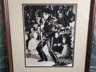 NBC Special  Elvis Presley  Circa 1968  Elvis in Black leather