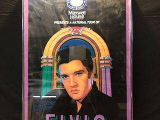 Framed Elvis A Musical Celebration Poster location Near Shelf 6