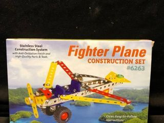 Fighter Plane Stainless Steel Construction Set location Shelf 4