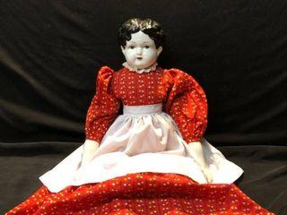 Porcelain Doll Unknown Year location Shelf 4