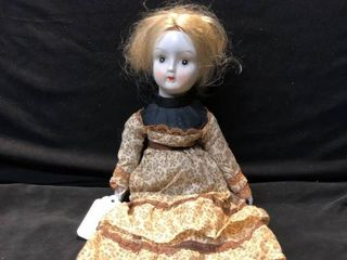 Porcelain Doll Year and Brand Unknown location Shelf 4