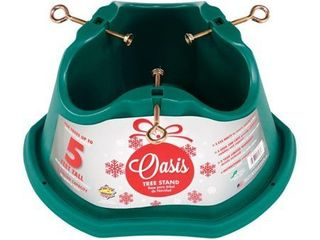 Oasis 9708421 5 ft  Plastic Green Christmas Tree Stand
