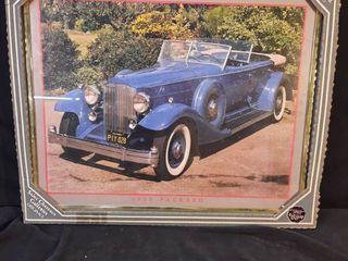 1933 Packard Framed Poster