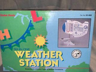 Radio Shack Six In One Weather Station location Shelf 1