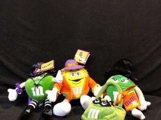 M Ms Halloween Mini Seasonal Plushies with Tags location Shelf 4
