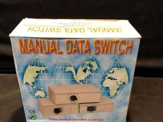 Manual Data Switch Data Signal Sharing Transfer Device location Shelf 4