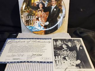 Gone with the Wind Collectible Plate