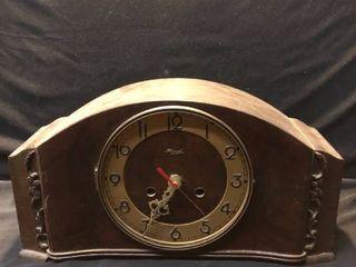 Vintage Kienzle Wooden Clock Not Tested location Shelf 4