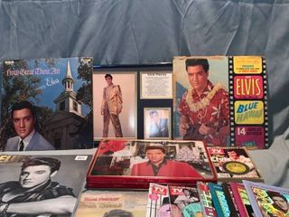 Elvis Presley Memorabilia lot location Shelf 1