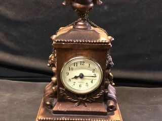 Sterling Barcelona Mantle Display Clock Year Unknown location Shelf 4