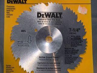 DeWalt 7 1 4 Inch Industrial Steel Hollow Ground Planer Blade location Shelf 1