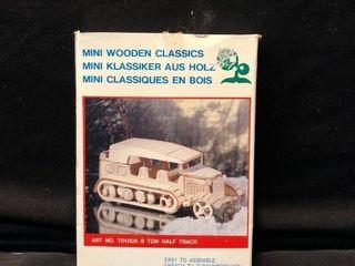 Mini Wooden Classics 8 Ton Half Track Easy To Assemble location Shelf 4