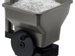 Suncast   Handheld Ice Melt Spreader  Gray