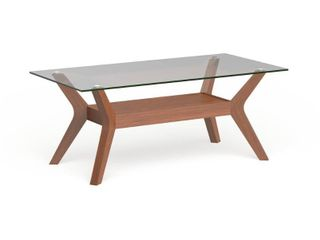 Carson Carrington Kristiansand Walnut Finished Coffee Table Retail 228 49