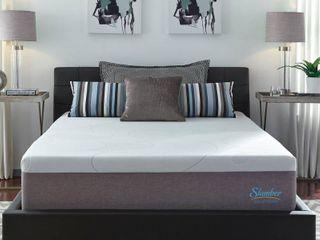 Slumber Solutions 14 inch Gel Memory Foam Choose Your Comfort Mattress   White Queen