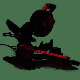 CRAFTSMAN 10 in 15 Amp Single Bevel Sliding Corded Miter Saw