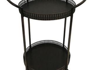 Clarkburn Bronze Finish Bar Cart Retail 95 99
