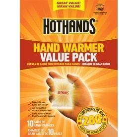 HotHands Hand Warmers 10 Pair Value Pack   Up to 10 Hours of Heat per Pair