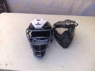 lot Of 2 Sport Helmets Motocross Etc