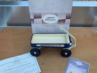 Hallmark Kiddie Car Classics 1935 American Airflow Coaster location Back Storage