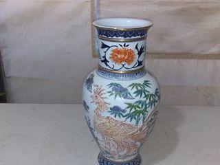 Beautiful Hand Painted Japanese Vase
