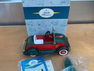 Hallmark Kiddie Car Classics 1934 Christmas Classic location Back Storage