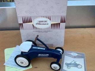 Hallmark Kiddie Car Classics 1963 Garton Speedster location Back Storage