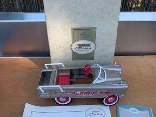 Hallmark Kiddie Car Classics 1961 Murray Circus Car location Back Storage