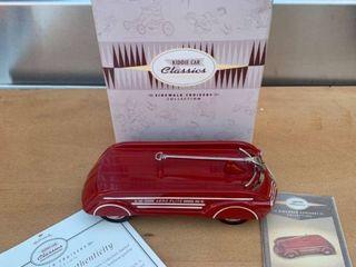 Hallmark Kiddie Car Classics 1940 Garton Aero Flite Wagon location Back Storage