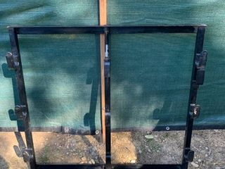 Trailer Mount Weed Trimmer Rack location Back Storage