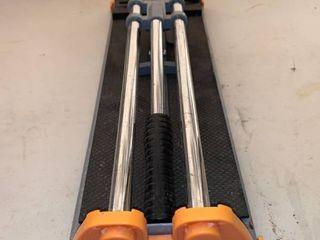 HDX Tile Cutter location Front Storage