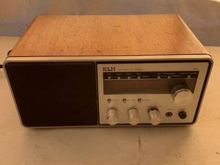 KlH FM Table Top Stereo Works location Front Storage