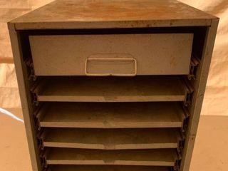 Metal Organizer Cabinet location Front Storage