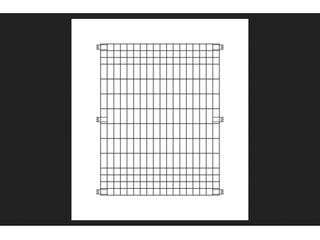 5 Origin Point Brands 795010 Poultry Fence Panel  black