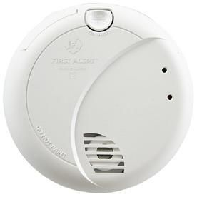 BRK Brands 7010B Hardwire Smoke Alarm with Photoelectric Sensor and Battery Backup