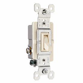 Pass   Seymour legrand 15 Amp White 3 Way light Switch