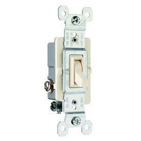 Pass   Seymour legrand 7 15 Amp light Almond 3 Way light Switch