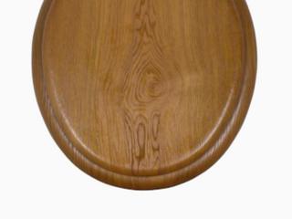 Aqua source Wood Toilet Seat 16  Round Color Oak
