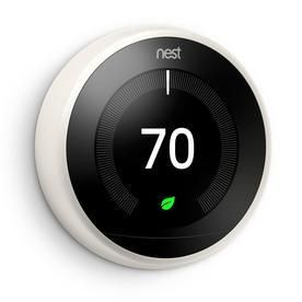 Google Nest learning Thermostat White   Not Inspected