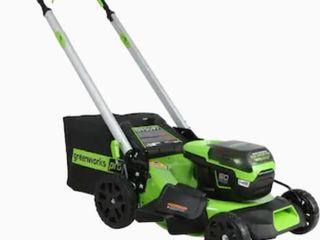 GreenWorks self propelled 60volt lithium mower