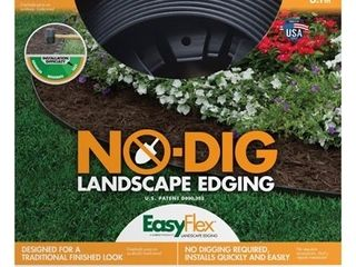 EasyFlex No Dig 20  Garden Edging