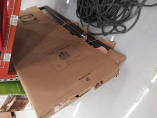 Pella Select 36 in x 81 in Brown Full View Aluminum Storm Door