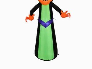 Gemmy 5 ft x 2 7 ft lighted Reaper Halloween Inflatable