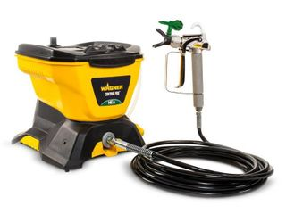 Wagner 0580678 Control Pro 130 Power Tank Paint Sprayer  High Efficiency Airless with low Overspray   Not Inspected