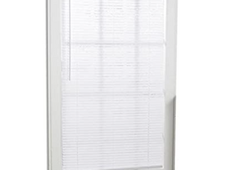 Project Source White Vinyl Mini blinds 32 inch X 64 inch