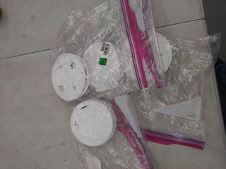 set of 4 smoke detectors